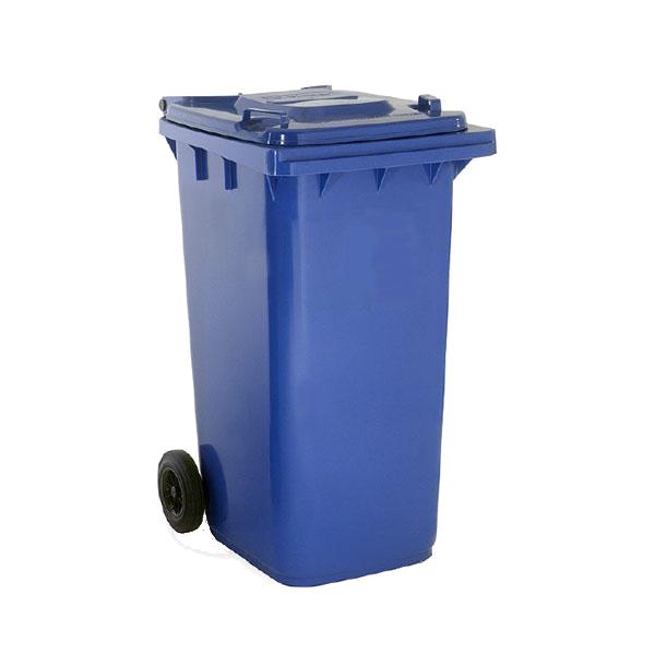 صندوق قمامة 240 لتر أزرق